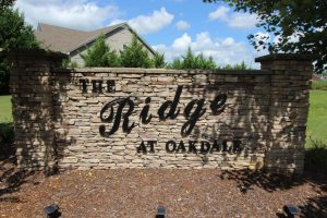 The Ridge At Oakdale Entrance 1