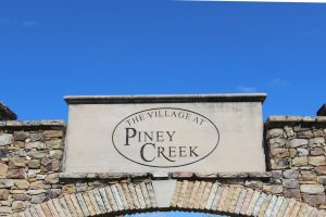 Piney Creek Entrance 1